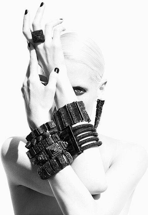 Black Diamonds Jewelry Fashion Beauty