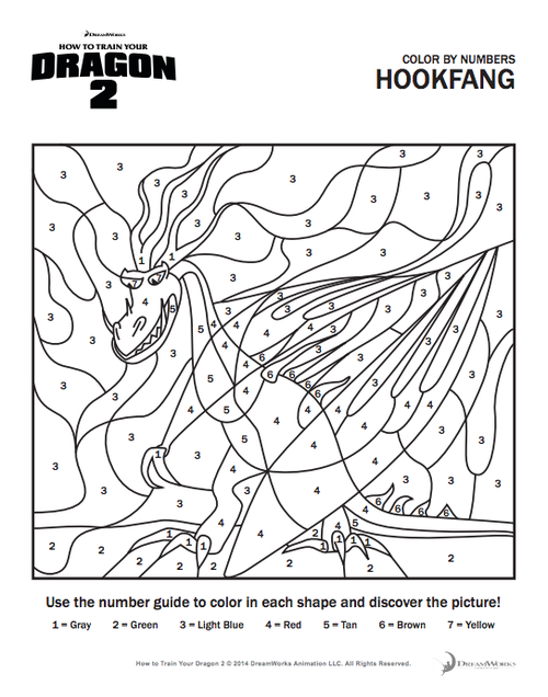 how to train your dragon coloring page | How to Train Your Dragon 2 ...