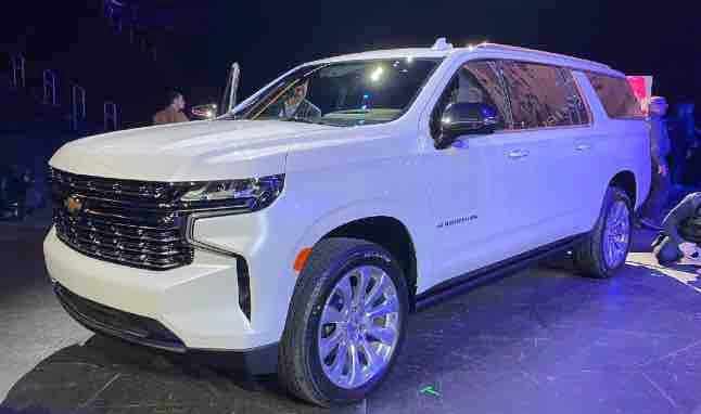 2021 Chevrolet Suburban Tahoe In 2020 Chevrolet Suburban Chevy