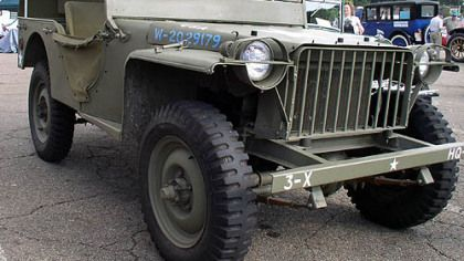 The father of all Jeeps, the original created by Butler's own American Bantam Car Co.