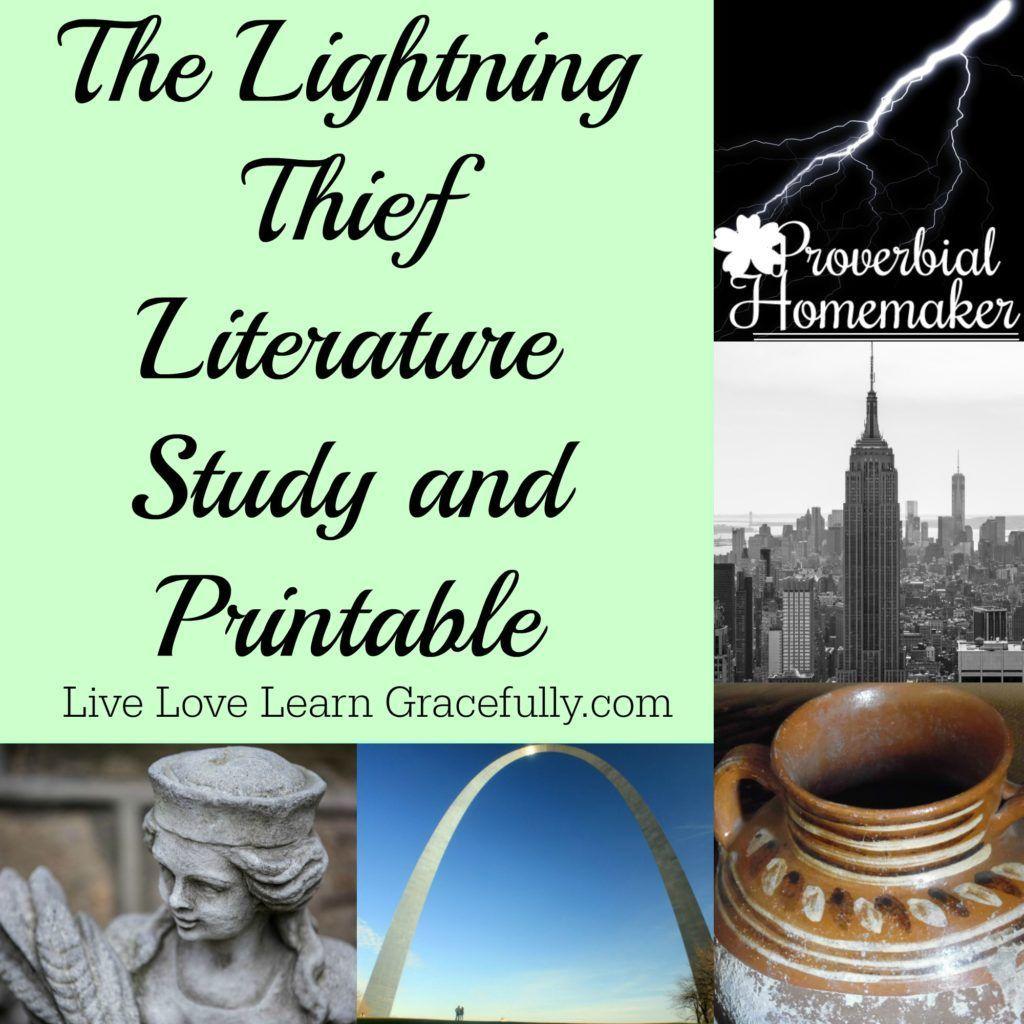 Lightning Thief Unit Study Printable