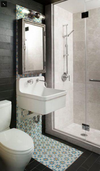 Moderne Kleine Badezimmer Trends 2018   Erstellen Sie Die Optische Illusion  Der Größeren Amplitude