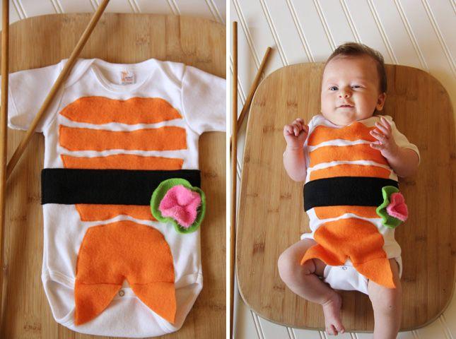 The 30 Best Baby Halloween Costumes Ever Disfraces bebe, Sushi y - trajes de halloween para bebes