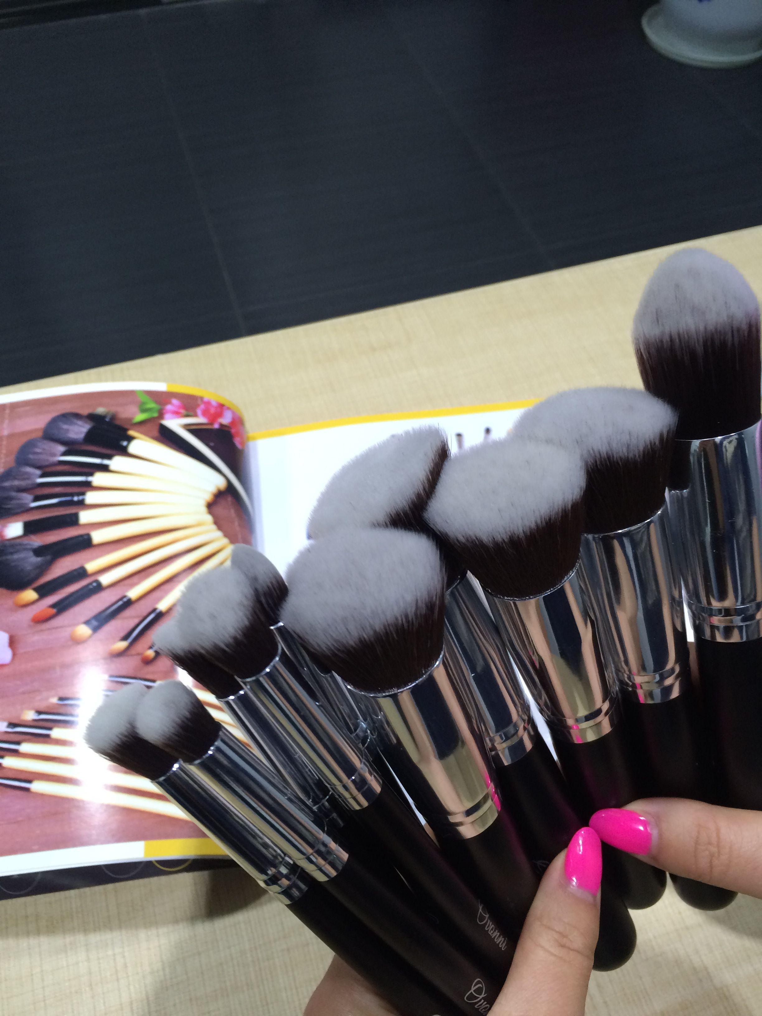 Amazing 10pcs Makeup Brushes for eye,eyeshadow,foundation