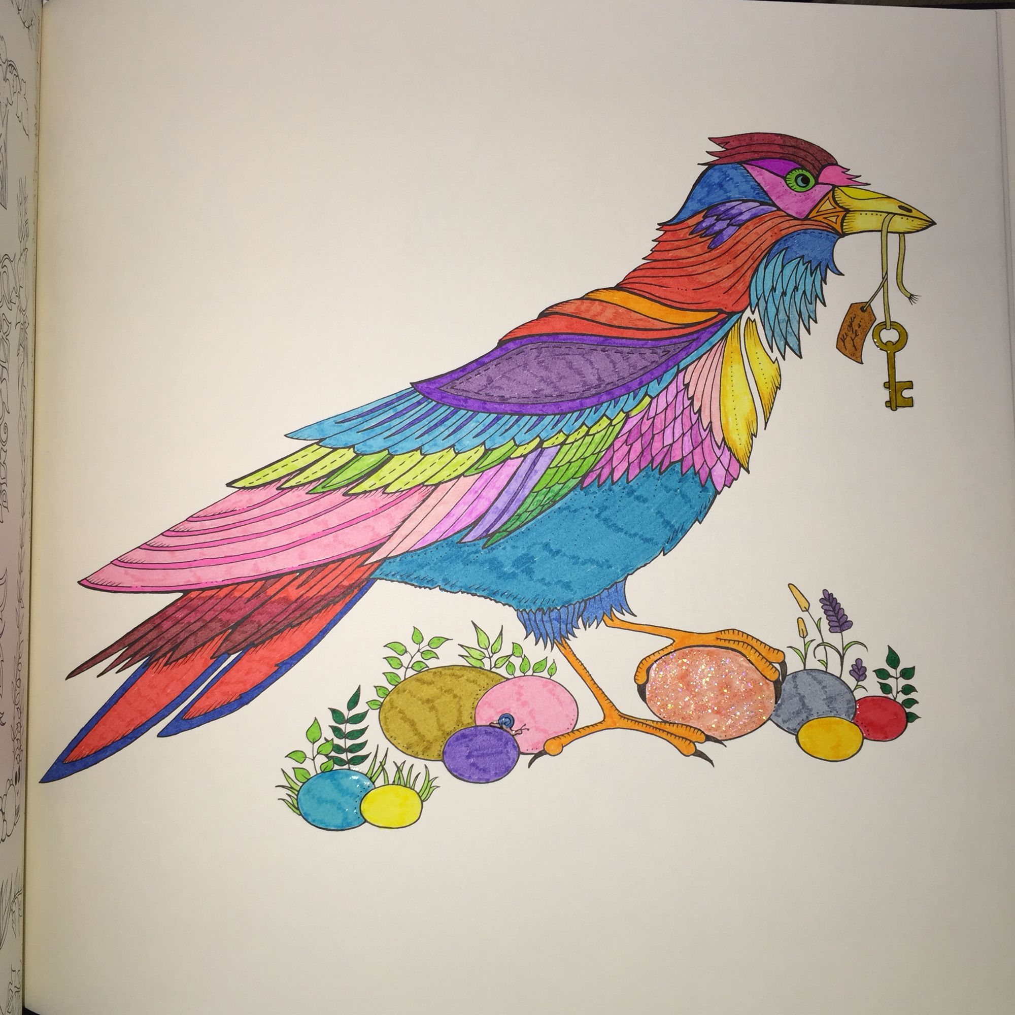 Johanna Basford Steadtler Triplus Fineliners WHSmith Enchanted Forest Glossy Accents Ink