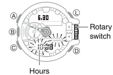 How To Set Time On Casio G Shock Gba 400 G Shock Casio G Shock Shock
