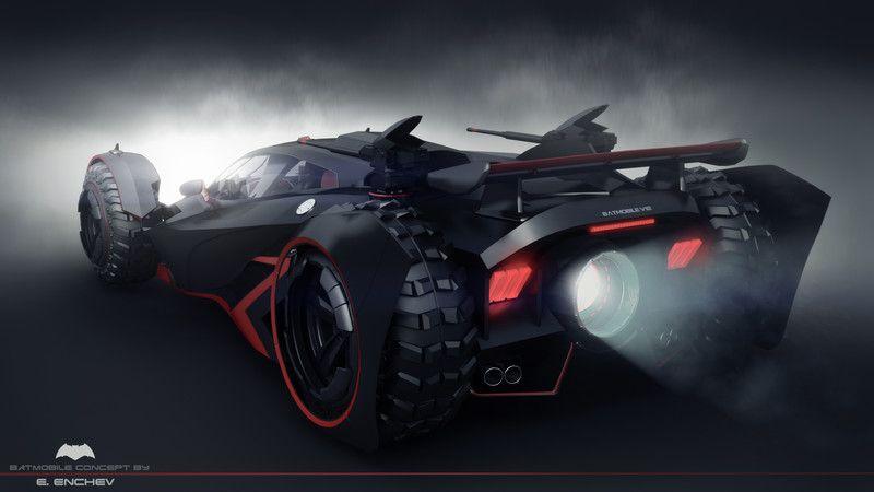 batmobile concept V12, Encho Enchev