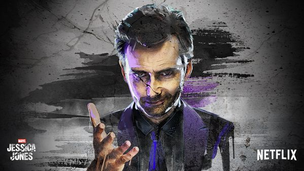 A Current Fave Wallpaper Of David Tennant As Kilgrave From
