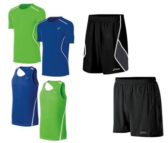 asics running apparel