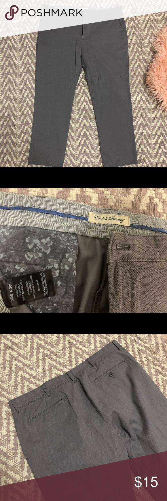 Gray English Laundry Men Pants Mens Pants English Laundry