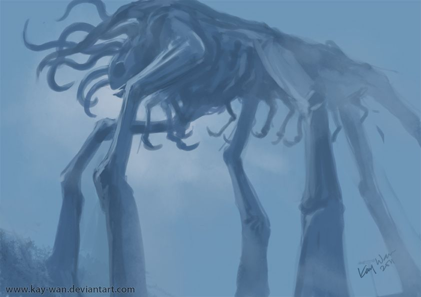 Mist Monster Mists Fantasy Photography Lovecraftian Horror