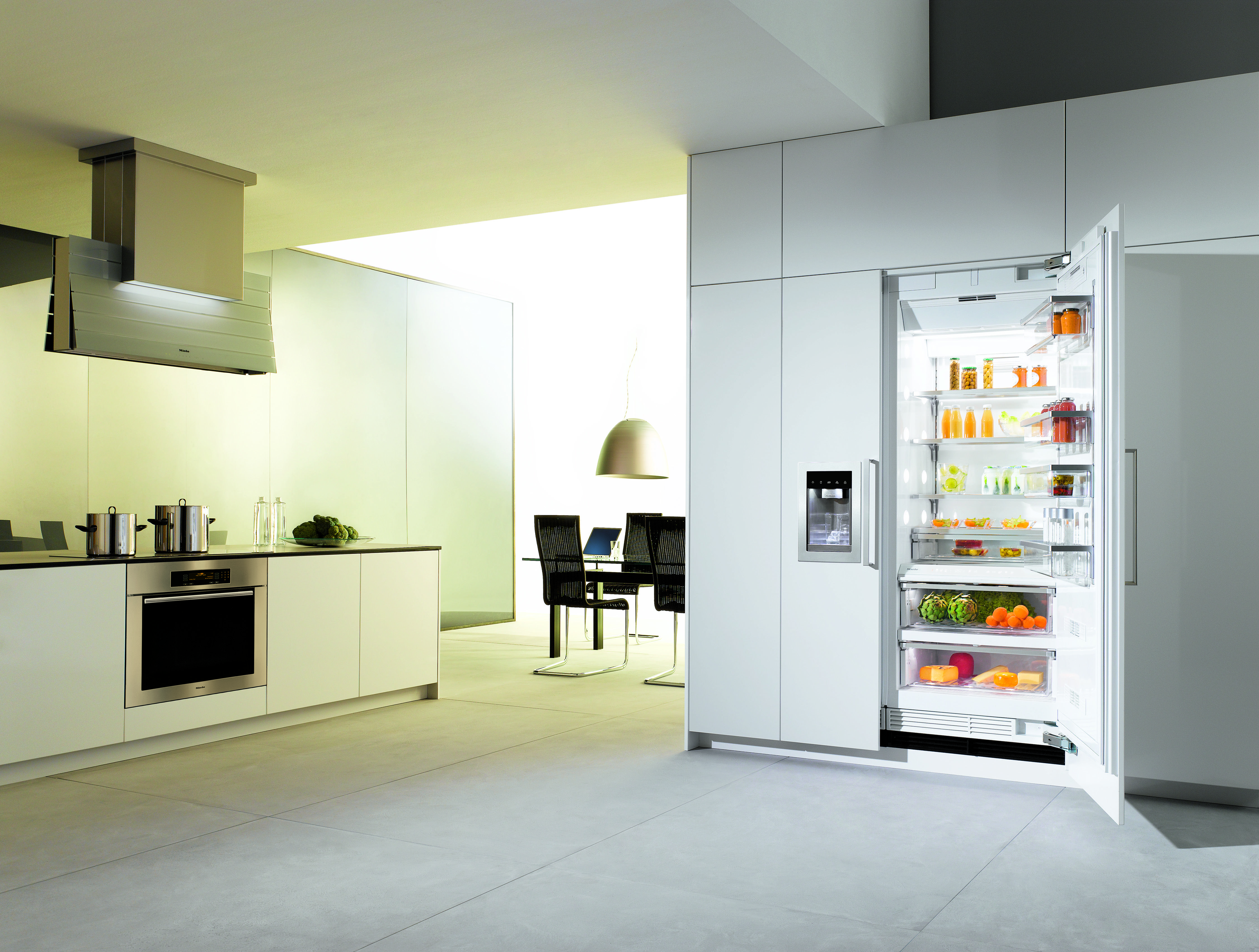 Miele kitchen | Miele kitchen, Miele kitchen appliances