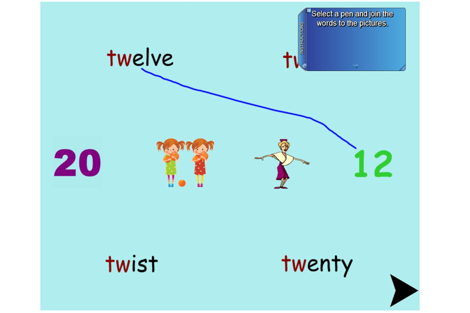 A Beautiful Iwb Lesson For The Study Of Initial Consonant