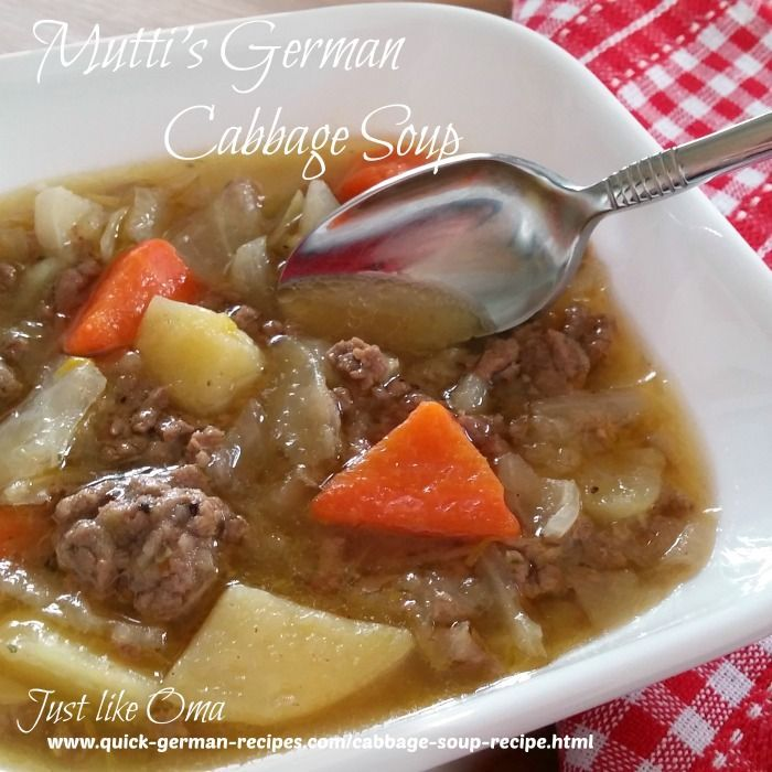 German cabbage soup recipe made just like oma cabbage german cabbage soup made just like oma check out the recipe at http forumfinder Image collections