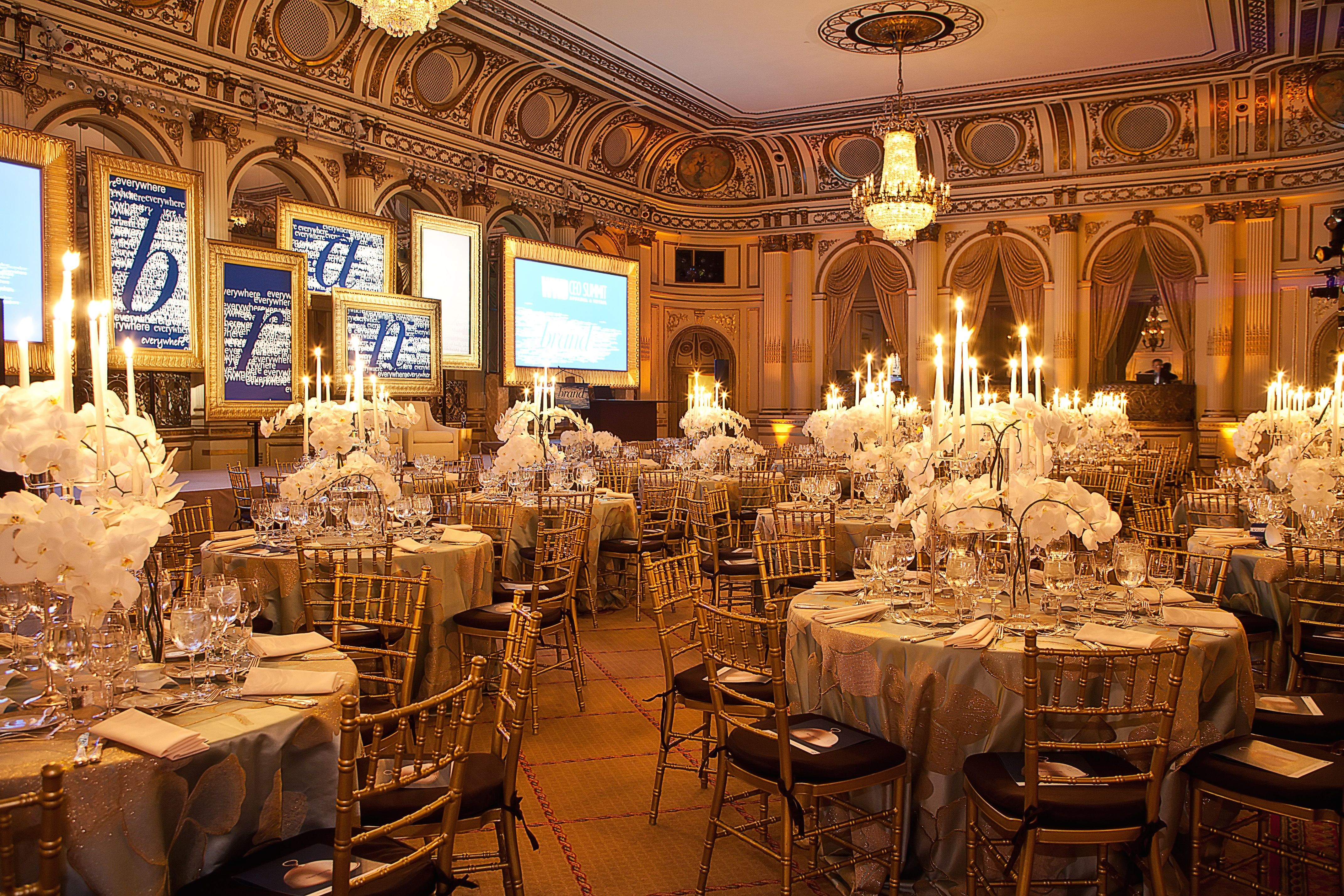 My 2011 WWD CEO Summit at the Plaza Hotel, NYC Wedding