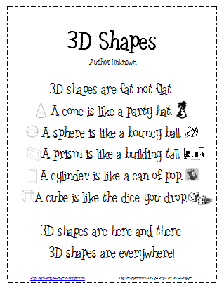 10 Activities For Describing 3d Shapes In Kindergarten Math School Elementary Math Teaching Math