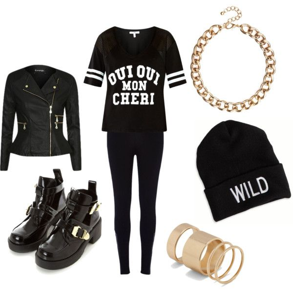 2NE1 - Come Back Home  A fashion look from March 2014 featuring Mon Cheri t-shirts, River Island leggings and Call it SPRING rings. Browse and shop related looks.
