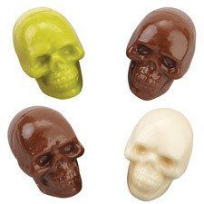 Skull Shaped Candy Mold By Wilton 3 D Small Candy Molds