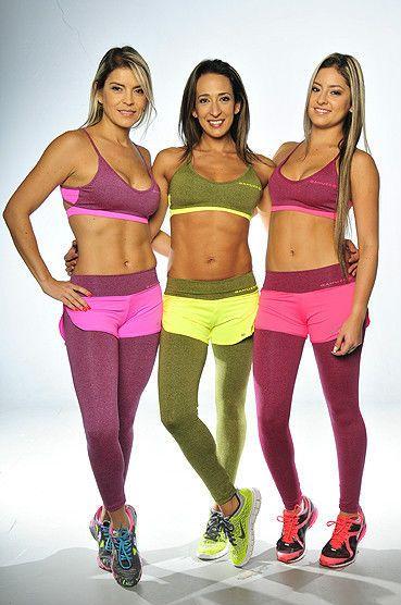 New Gahuer Fitness 2pc Bra Top Shorts Leggings Set 80\u0027s Fitness Supplex Gym  Yoga Gahuer BraTopShortsOverLeggingsSet