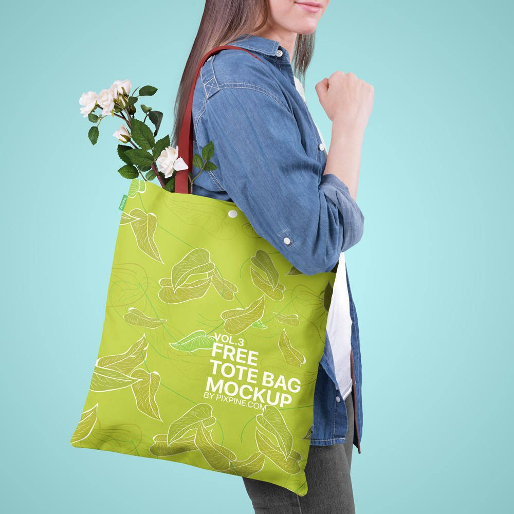 Download Free Adorable Tote Bag Mockup Bag Mockup Tote Bag Bags