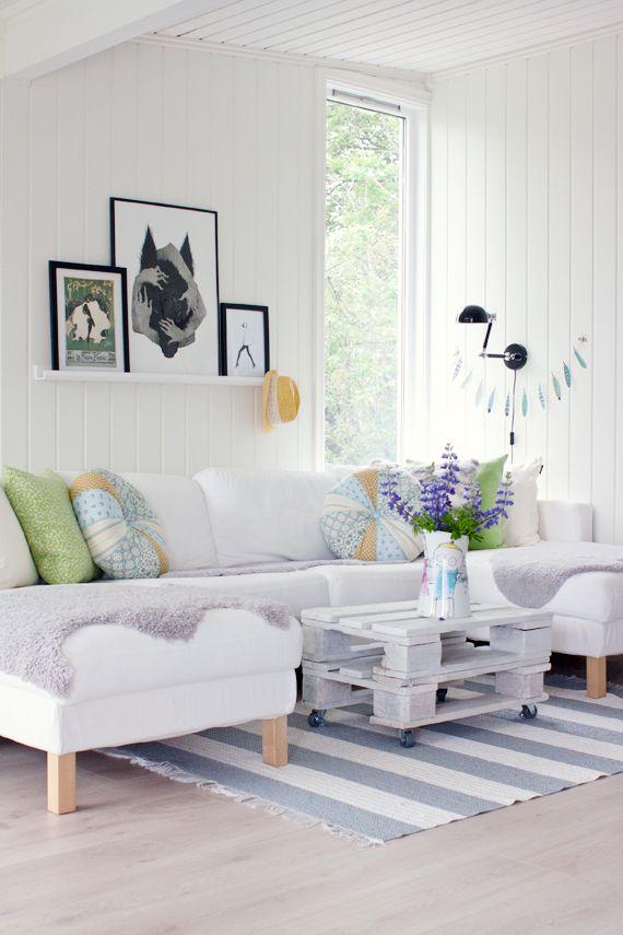 white #livingroom #wit #woonkamer #inspiratie | WOONKAMER INSPIRATIE ...