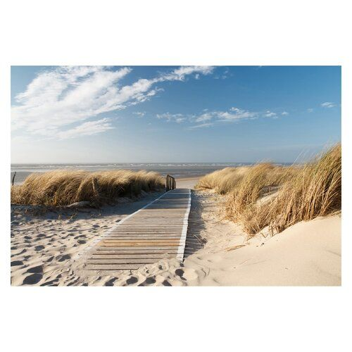 East Urban Home Strukturierte Fototapete Top Beach | Wayfair.de #baltic