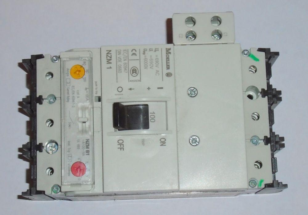 Moeller Nzm B1 A 125 Circuit Breaker Nzm1 Series 25 Amp 3 Pole 240v Bb2 Bee Keeping Supplies Breakers Circuit