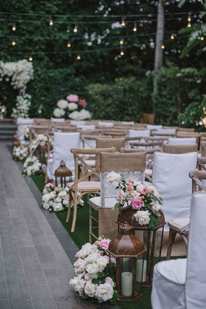Rustic-Elegant Outdoor Ceremony + Luxe, Garden-Inspired Reception | Wedding  decor inspiration, Wedding inside, Rustic wedding decor