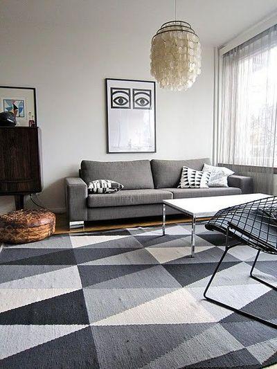Ikea Stockholm Rug Grey
