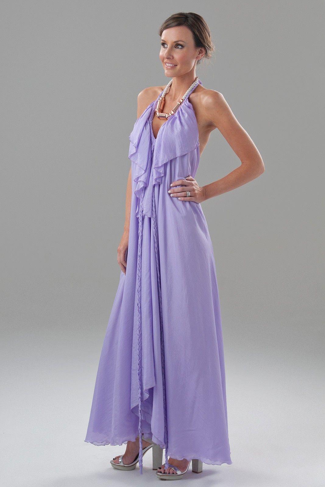 lisa brown lilac poppy v frill dress - Google Search | Bridesmaids ...