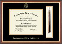 Appalachian State University Diploma Frame Graduation