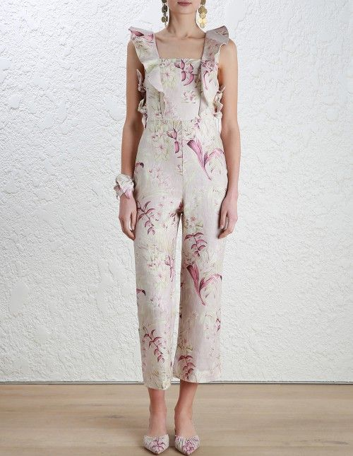 a16eaacee1 Zimmermann Winsome Apron Jumpsuit. Model Image. Our model is 5 10 5 and is  wearing a size 0