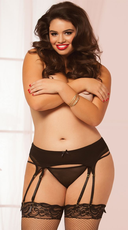 2edf6880112db 896R Plus Size Bodies, Plus Size Garter Belt, Plus Size Bra, Garter Straps