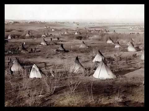 Pictures And Film on most of my videos,The Sioux i love and teepee all through this film.