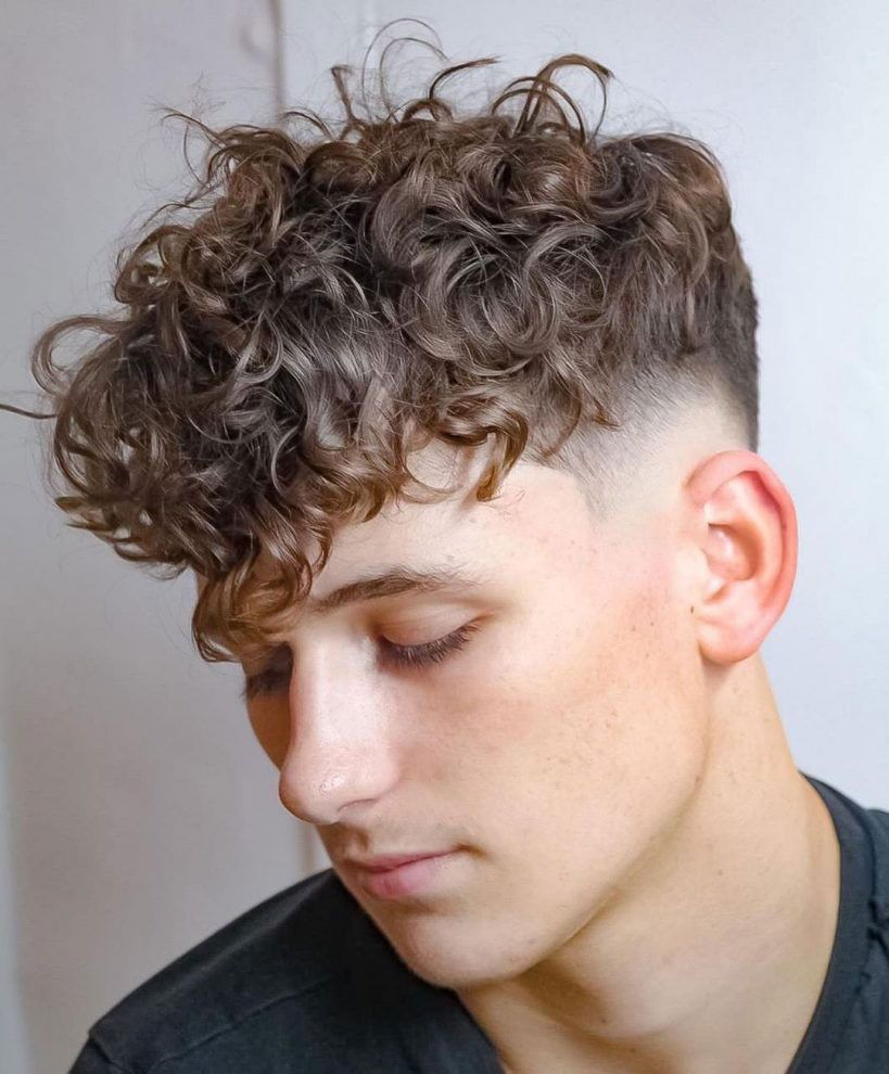 50 Best Curly Hairstyles Haircuts For Men 2020 Guide In 2020 Men Haircut Curly Hair Haircuts For Curly Hair Boys Haircuts Curly Hair