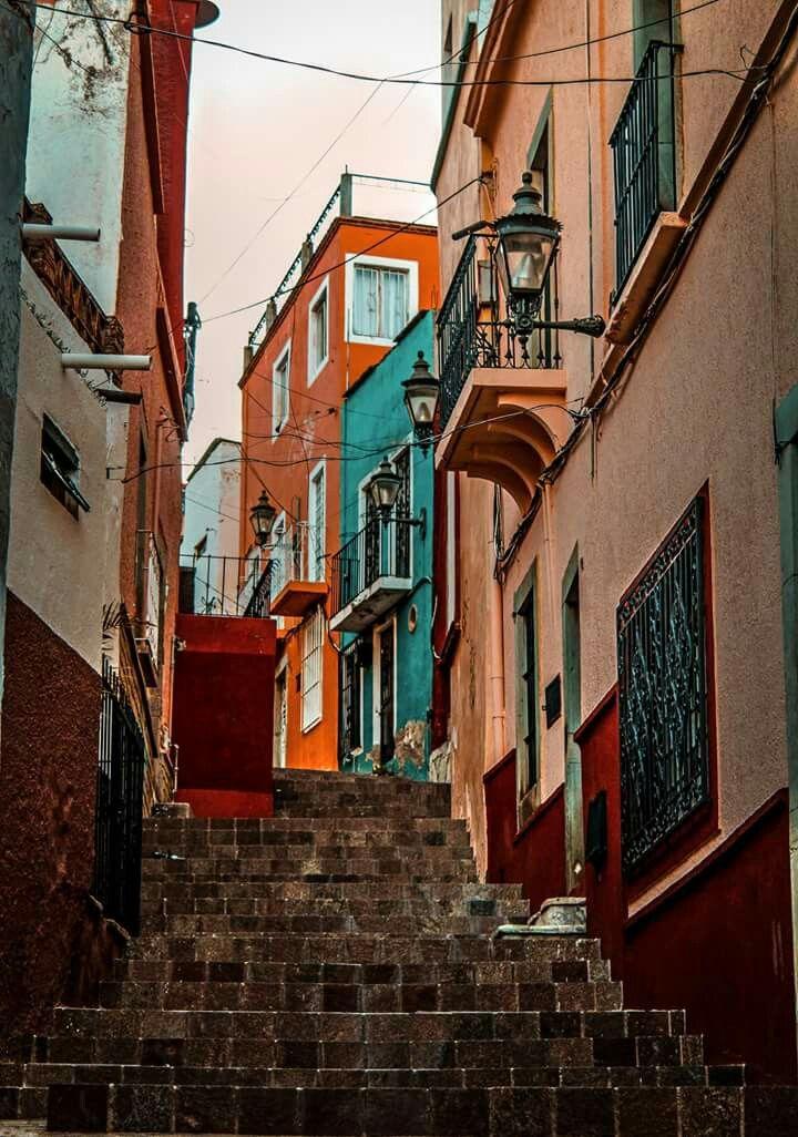 calles de Guanajuato | GUANAJUATO - MEXICO | Pinterest | Calle ...