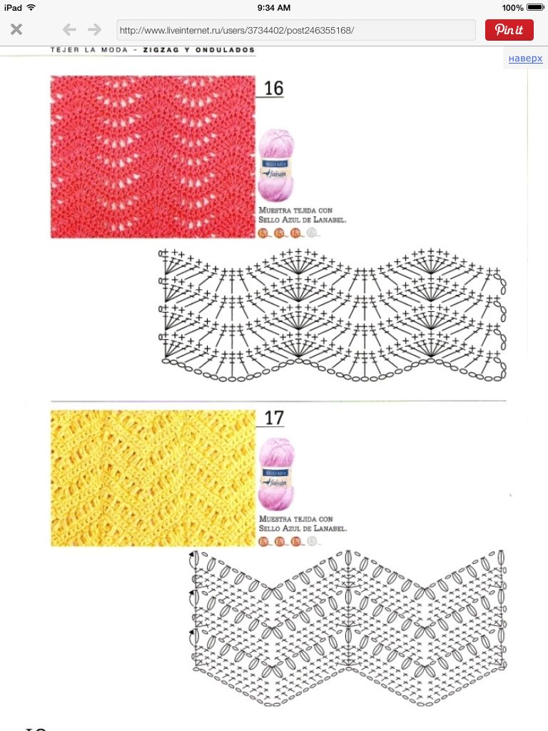 crochet ripple stitch-widen the lace panels | Pins to add to BO.LT ...
