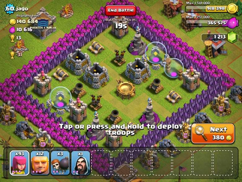 clash of clans game tips