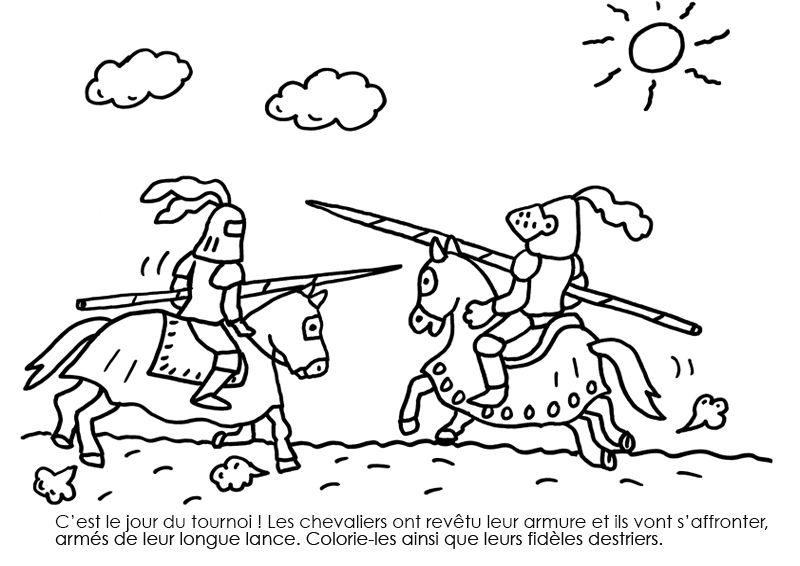 Dessin De Chevalier