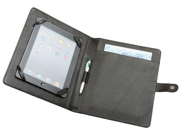 iPad leather notepad Leather case, Leather portfolio