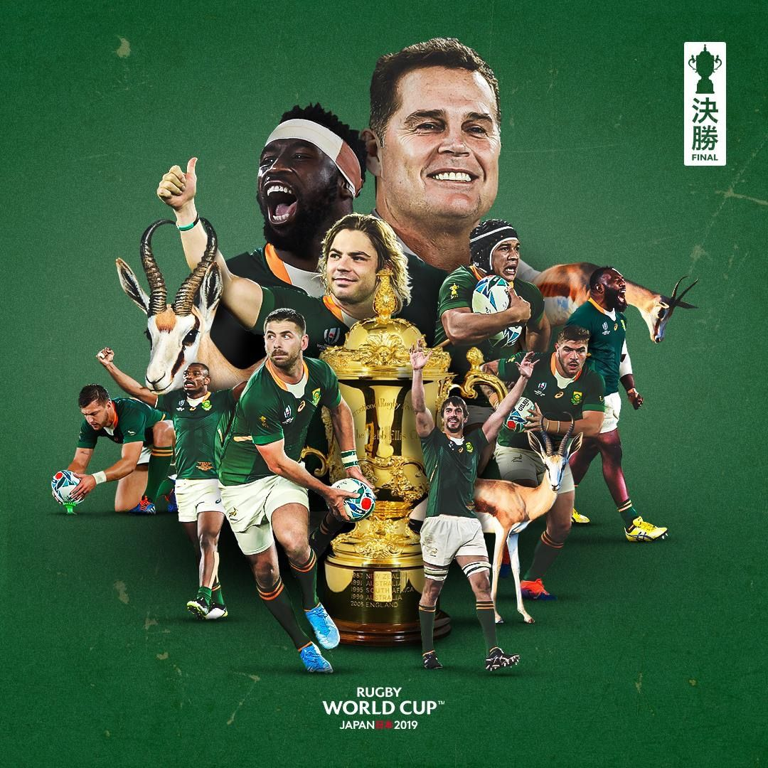 Rugby Rwc2019 Southafrica Winners Christelle