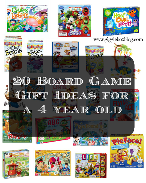 20 Board Game Gift Ideas for a 4 year old 4 year old