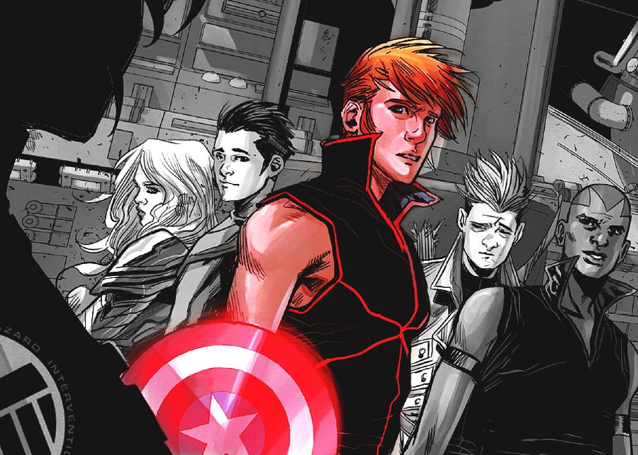 James Rogers | Captain America | Romanogers, Next avengers