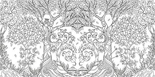Enchanted Forest Coloring Book Review
