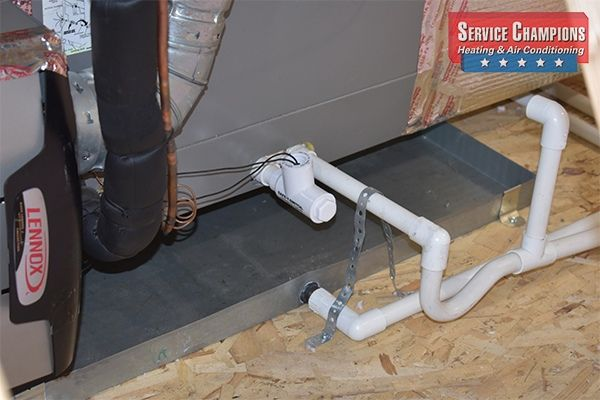 How Does A Condensate Drain Pan Work Condensate Drain High Efficiency Furnace Hvac