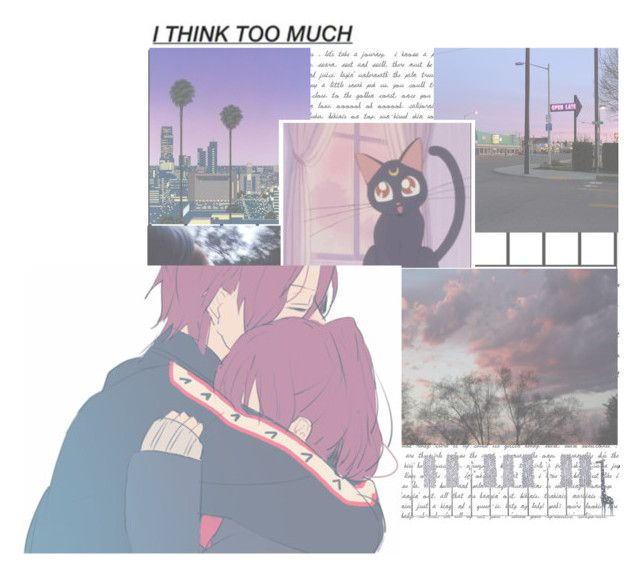 """""""Friday Nights Are Always The Same In This Town. I'm Looking Up, But I'm Feeling Kinda Down. So, I'll Light This Cigarette And Smoke The Night Away~"""" by etinim ❤ liked on Polyvore featuring art"""