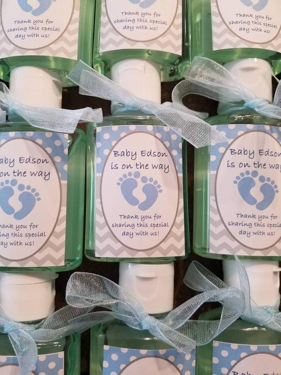 Baby Shower Baby Feet Hand Sanitizer Favors Beautiful Any