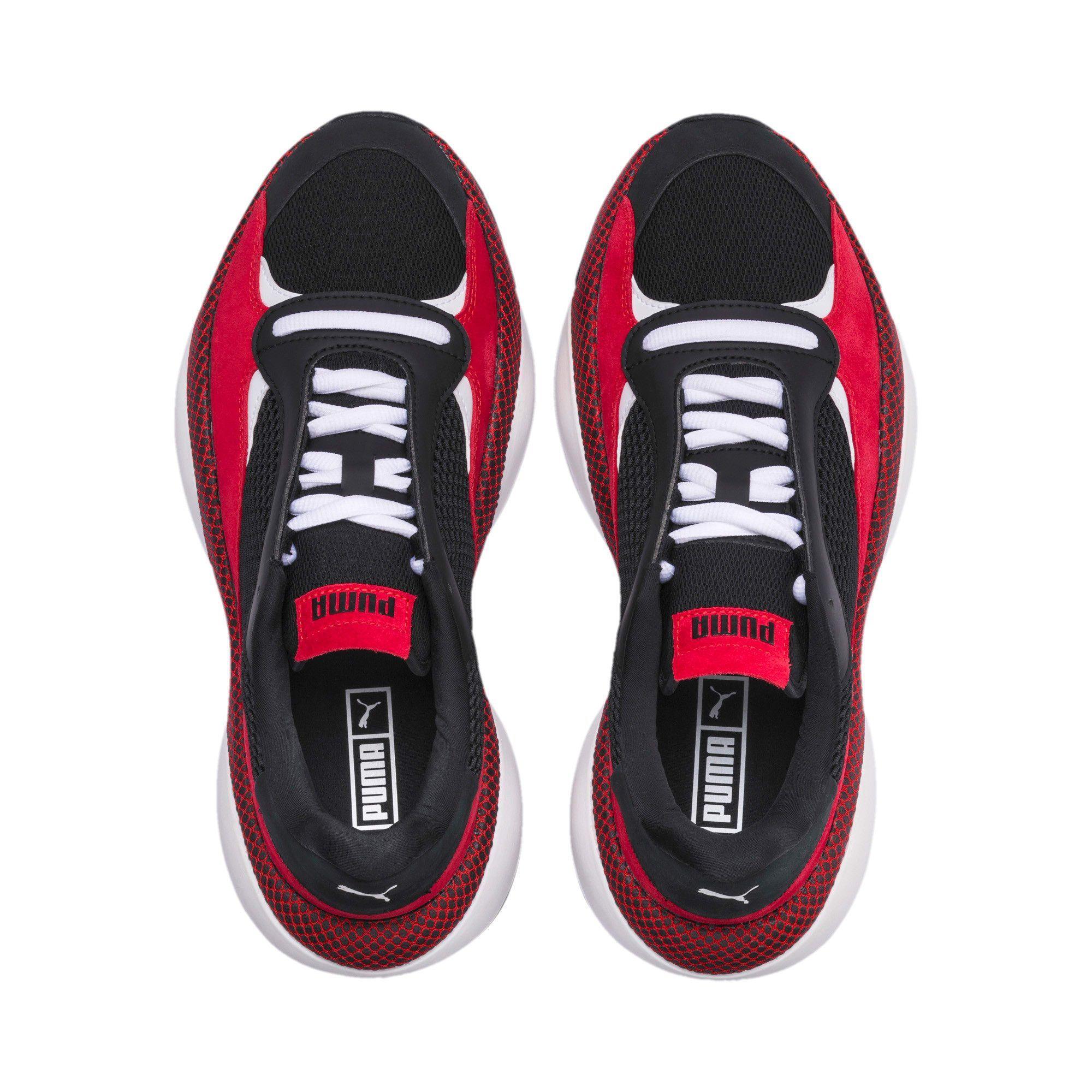 Anderung Blitz Sneakers Puma Schwarz Hochrisikorot Puma Anderungssammlung Puma Grossbritannien Anderung Anderungssammlung Blit In 2020 Sneakers Black Shoes Puma