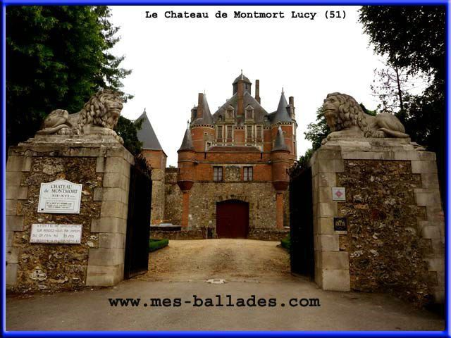Chateau de Montmort Lucy - Marne, Champagne-Ardenne
