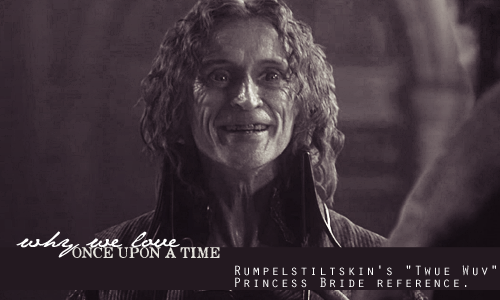 "Why We Love OUAT: Rumple's ""The Princess Bride"" reference"